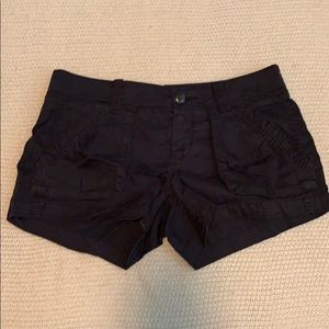 Old Navy black shorts.